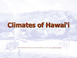Climates of Hawai i