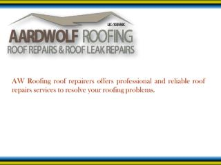 Looking for Perfect Roof Repairs Services in Ryde