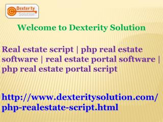 real estate portal software | php real estate portal script