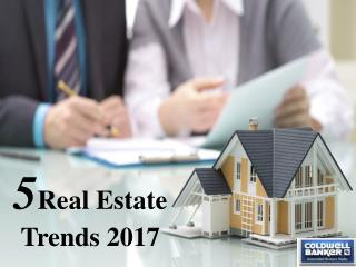 5 Real Estate Trends 2017