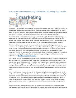 Marketing Companies in Cayman