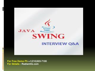 java swing online training