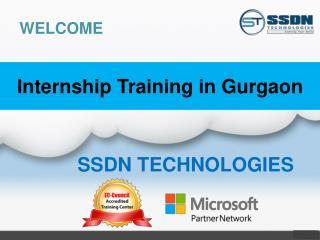 Internship in Gurgaon