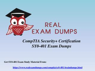 SY0-401 Exam Dumps Questions & Answers - SY0-401 Braindumps RealExamDumps.com