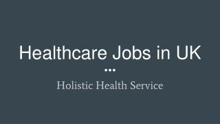 Healthcare Jobs in North West - Liverpool,Southport,Preston,Leyland