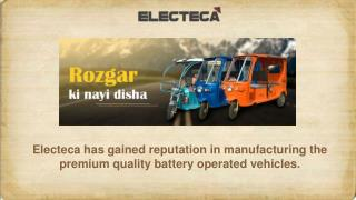 Electeca: The Ultimate Address of Battery Rickshaw in West Bengal