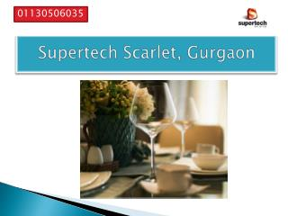 Supertech scarlet Suites Located in Gurgaon