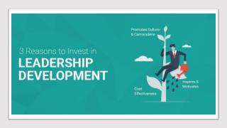 3 Reasons to Invest in Leadership Development