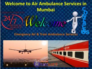 Get Medilift Hi-Tech Air Ambulance Services in Mumbai at an Economical Rate