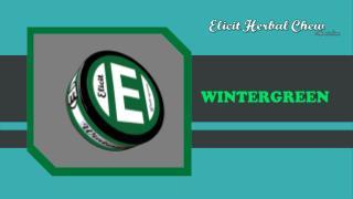Elicit Herbal Chew Wintergreen