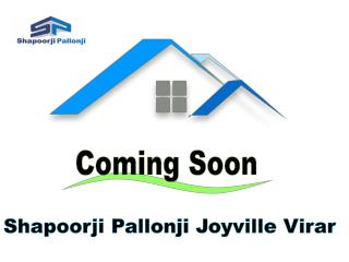 New Luxury Project Shapoorji Pallonji Joyville Virar MUmbai