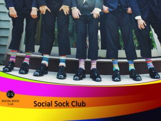 Social Sock Club - Monthly Sock Subscription