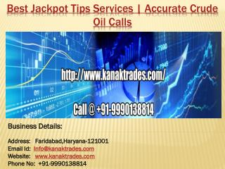Best Jackpot Tips Services   Accurate Crude Oil Calls
