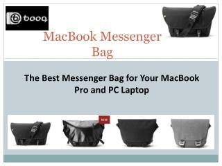The Best Messenger Bag for Your MacBook Pro and PC Laptop