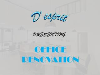 Why Office Renovation is Must?