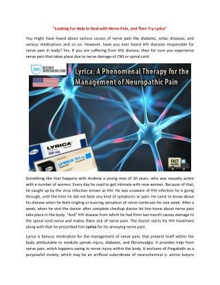 Lyrica (300, 150, 75, 50, 25 mg) Buy Online Overnight, USA