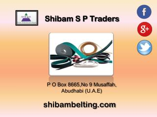 Industrial Conveyor Belts Company in UAE
