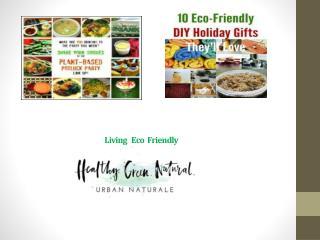 Living eco-friendly