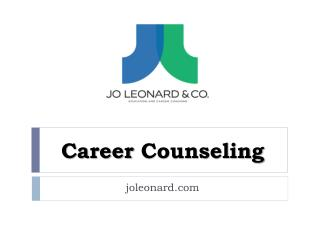 Career Counseling - joleonard.com