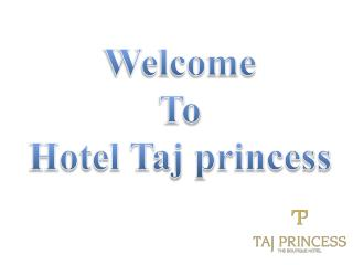 Hotel Taj Princess - Best Boutique Hotels in New Delhi