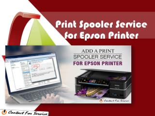 5 Steps to Add a Print Spooler Service for Epson Printer