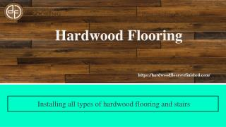 Get Hardwood Floor Refinishing Service