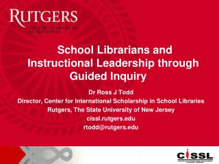 School Librarians and Instructional Leadership through Guided Inquiry