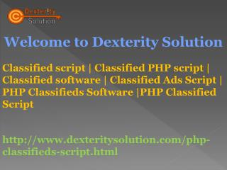 Classified Ads Script | PHP Classifieds Software |PHP Classified Script