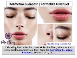 Kozmetika Budapest
