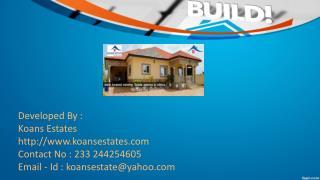Best Residential Property Developer In Ghana