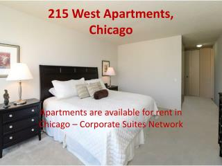 Short Term Rental Apartments Available In Chicago