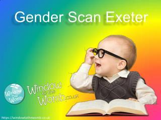 Gender Scan Exeter