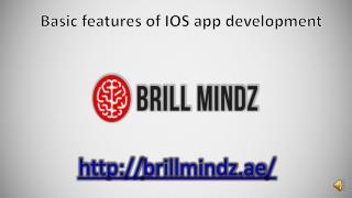 iphone application development company in Dubai