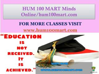 HUM 100 MART Minds Online/hum100mart.com