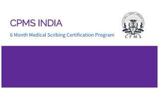 Medical Scribing Training By CPMS