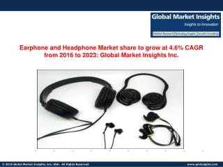 Earphone and Headphone Market in China to grow at 5.6% CAGR from 2016 to 2023