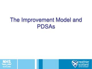 The Improvement Model and PDSAs