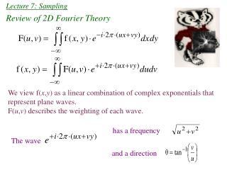 Lecture 7: Sampling