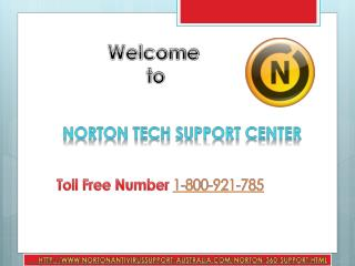 Dial @1800-921-785 Norton Antivirus Customer Technical Support presents 24/7