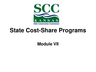 State Cost-Share Programs