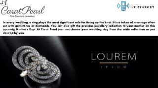 Buy Diamond Rings For Wedding In India Online