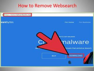 How to Remove Websearch