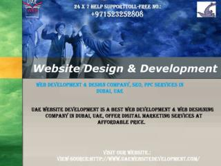 Web Development & Design Company, SEO, PPC Services in Dubai, UAE