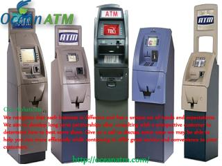 Brand New ATM Machines for Sale With Ocean ATM
