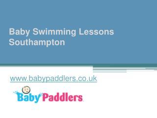 Baby Swimming Lessons Southampton - www.babypaddlers.co.uk