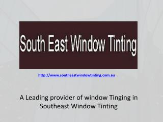 Southeast Window Tinting