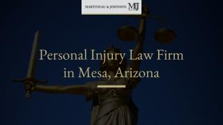 An Introduction to Martineau & Johnson Injury Law