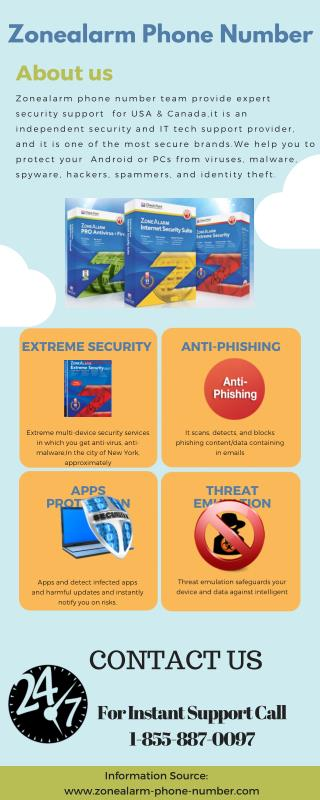 Zonealarm Phone Number   Just Call & safe your Data 1-855-887-0097