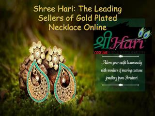 Shree Hari: The Leading Sellers of Gold Plated Necklace Online