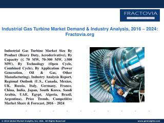 PPT for Industrial Gas Turbine Market